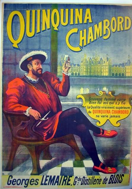Les affiches du temps passé quand la pub s'appelait réclame .. - Page 36 Quinqu10