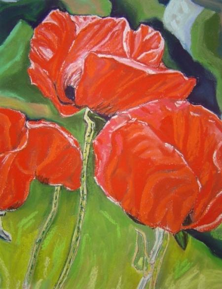Les FLEURS  dans  L'ART - Page 22 Sagale10