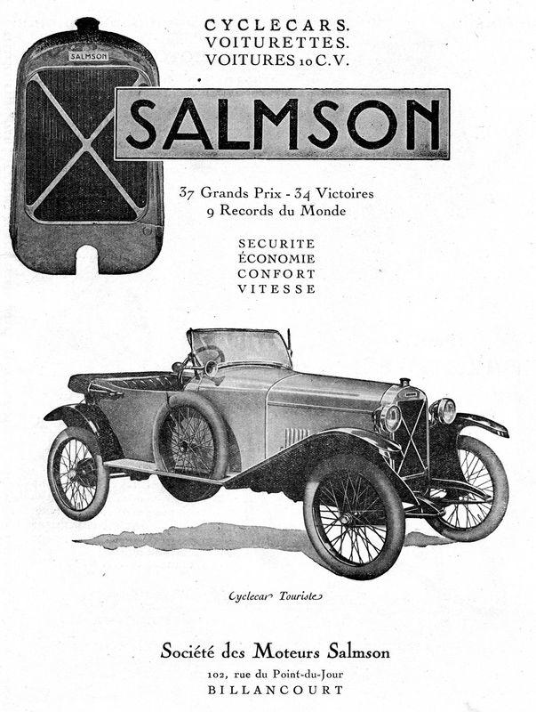 Basé sur l'ordre alphabétique, des noms de voitures, camions, dragsters, vélos, motos, tracteurs, bref tout ce qui roule !... - Page 4 Salmso10
