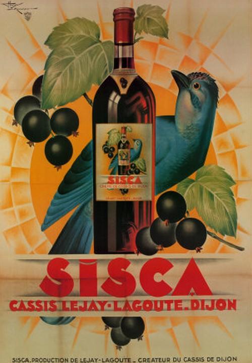 Les affiches du temps passé quand la pub s'appelait réclame .. - Page 37 Sisca_10