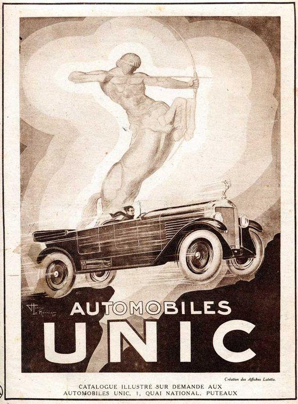 Basé sur l'ordre alphabétique, des noms de voitures, camions, dragsters, vélos, motos, tracteurs, bref tout ce qui roule !... - Page 5 Unic_a10