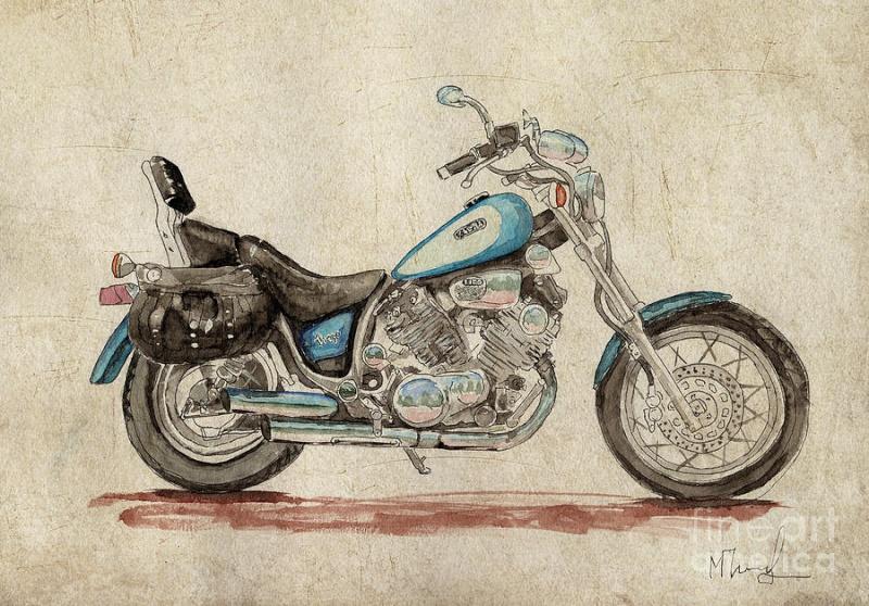 Basé sur l'ordre alphabétique, des noms de voitures, camions, dragsters, vélos, motos, tracteurs, bref tout ce qui roule !... - Page 4 Yamaha10