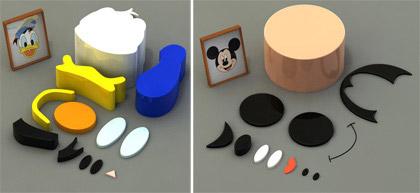 Disney et les designers Partic10