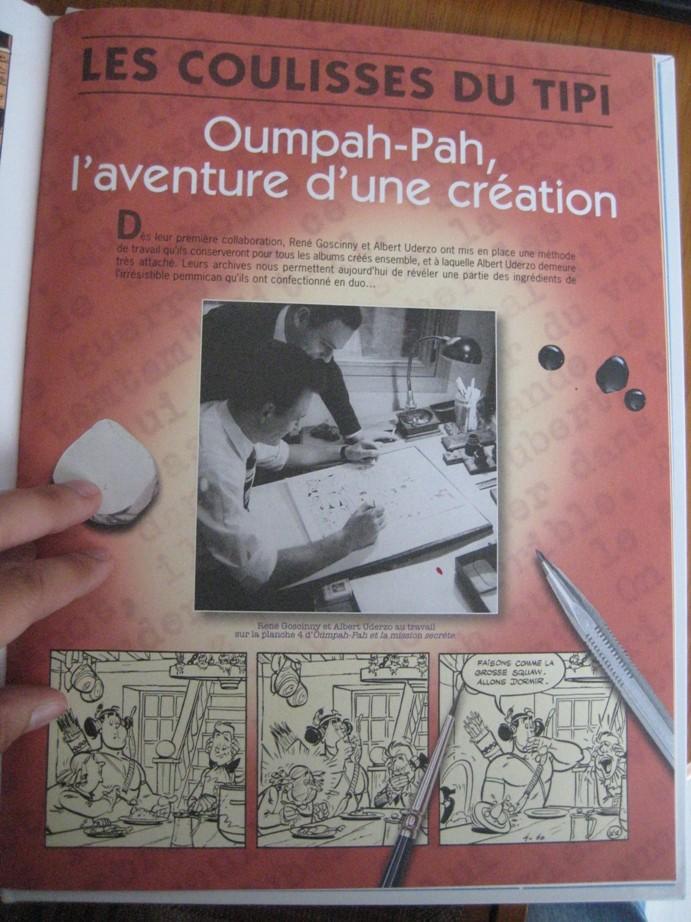 Un album d'Oumpah-Pah offert à l'achat de deux albums d'Astérix Img_7142