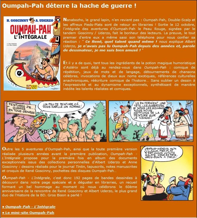 Oumpah-Pah: Le peau rouge - L'intégral Missiv11