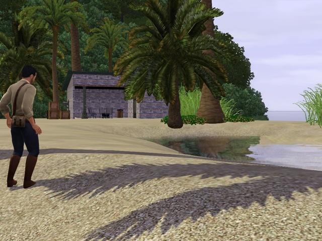 [Challenge sims 3] L'île Perdue - Page 4 Campem11