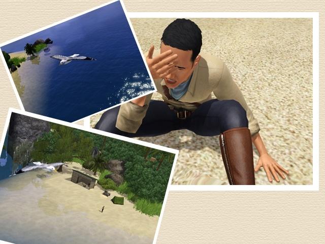 [Challenge sims 3] L'île Perdue Reveil10
