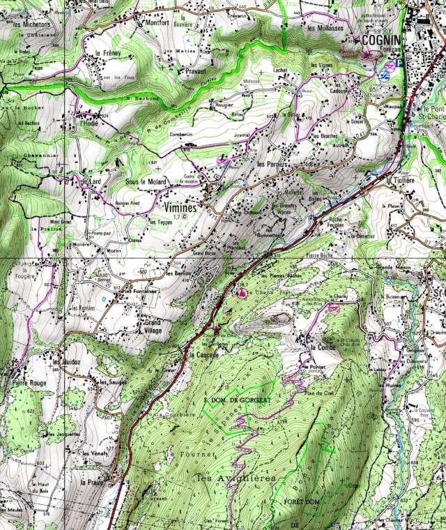 Bas-Bugey, Chartreuse, Vif - retour au pays Entrae10