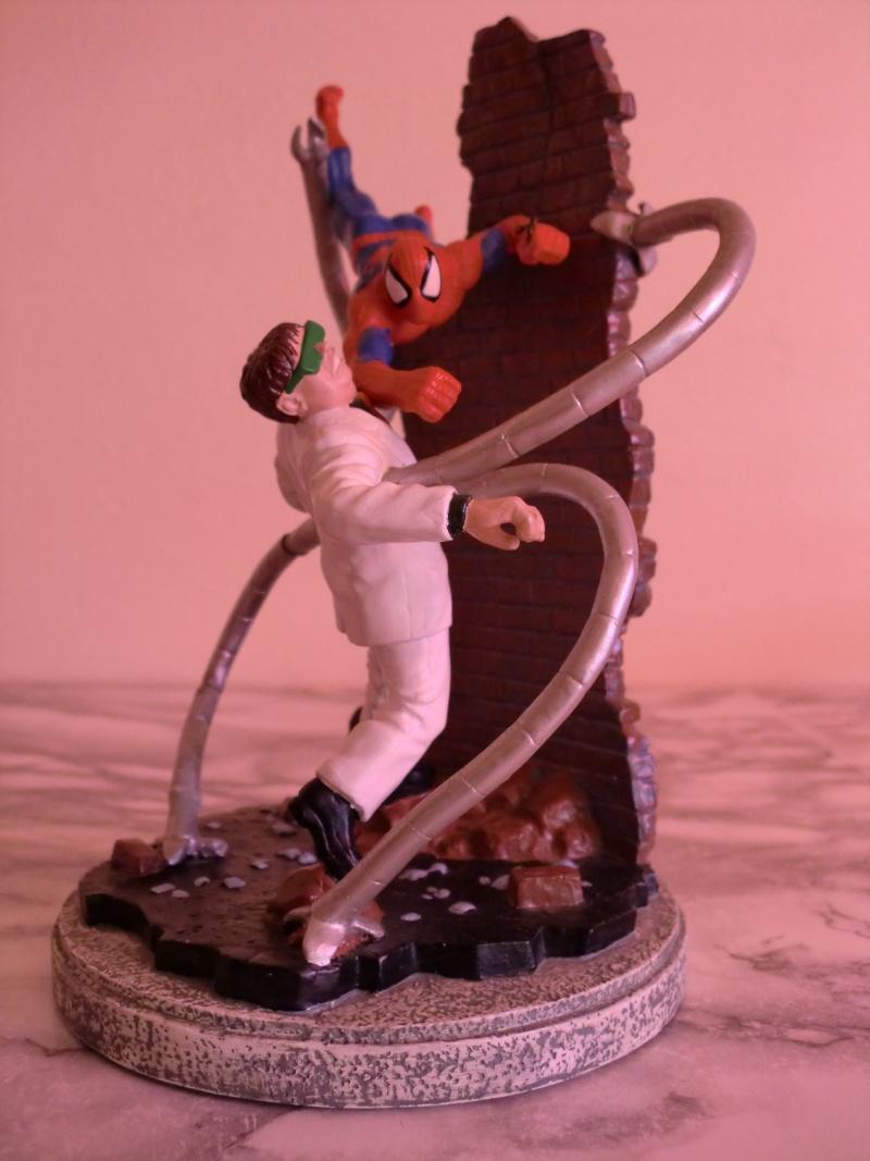 APPLAUSE : Spider-Man vs. Dr. Octopus diorama Cimg0110