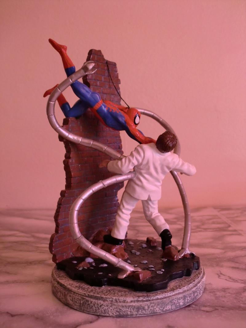APPLAUSE : Spider-Man vs. Dr. Octopus diorama Cimg0111