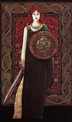 Brighid - La Déesse Mère chez les Celtes Brigid10