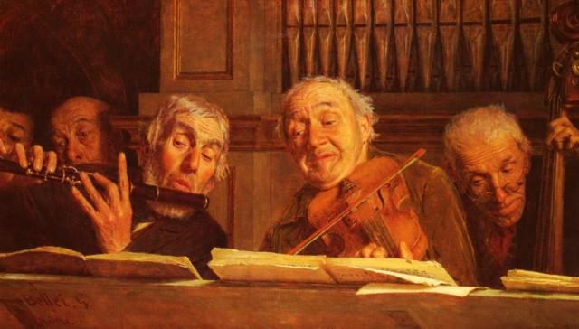 MUSIQUE: musiciens en peinture , en sculpture,... - Page 2 Bellei14