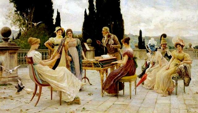 MUSIQUE: musiciens en peinture , en sculpture,... - Page 3 Federi10