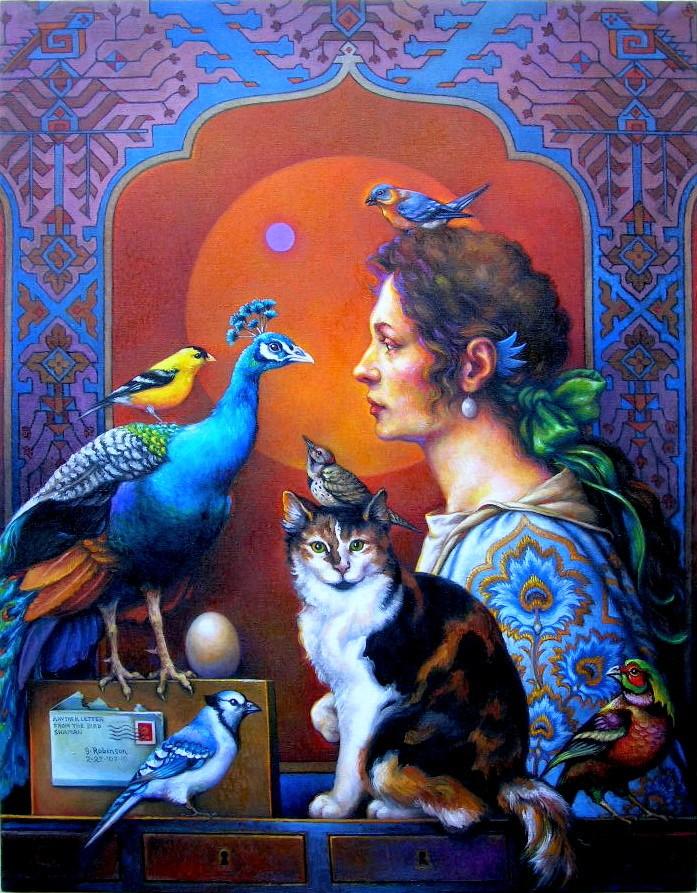 LE PAON: l'oiseau aux cent yeux  Guy_ro10