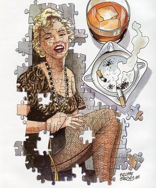 Marilyn ...une étoile ne meurt jamais ... Img03310