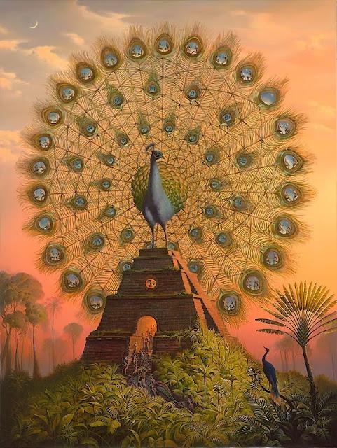 LE PAON: l'oiseau aux cent yeux  Paon_v10