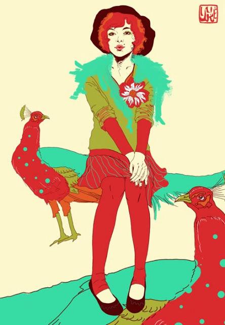 LE PAON: l'oiseau aux cent yeux  - Page 2 Paon_y10