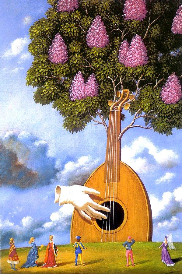 MUSIQUE: musiciens en peinture , en sculpture,... - Page 2 Rafal_15