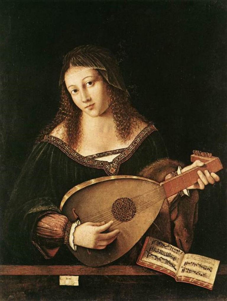 MUSIQUE: musiciens en peinture , en sculpture,... - Page 3 Womanp10
