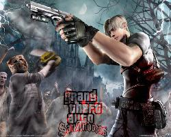 GTA San Andreas Resident Evil 5 World Fallen  31948710