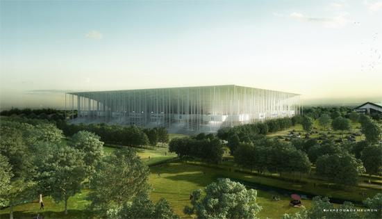 Nouveau stade de Bordeaux (42,556 places fin estimée 2014)  Bordea10