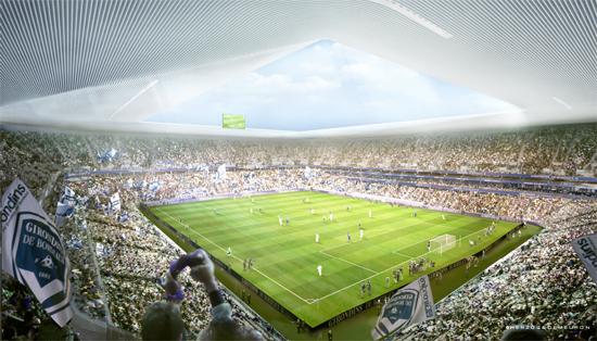 Nouveau stade de Bordeaux (42,556 places fin estimée 2014)  Bordea11