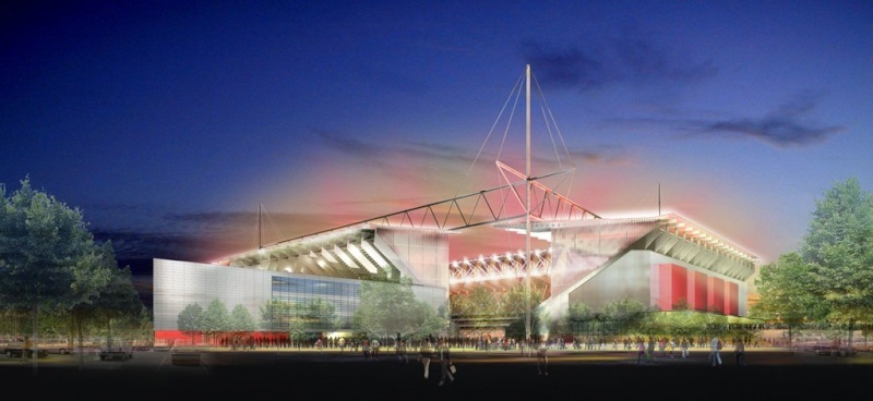 Stade Félix-Bollaert - (50,000 places fin estimée 2014) Lens_s10