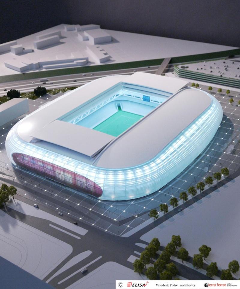 Grand stade Lille Métropole - 50157 places Lille-10