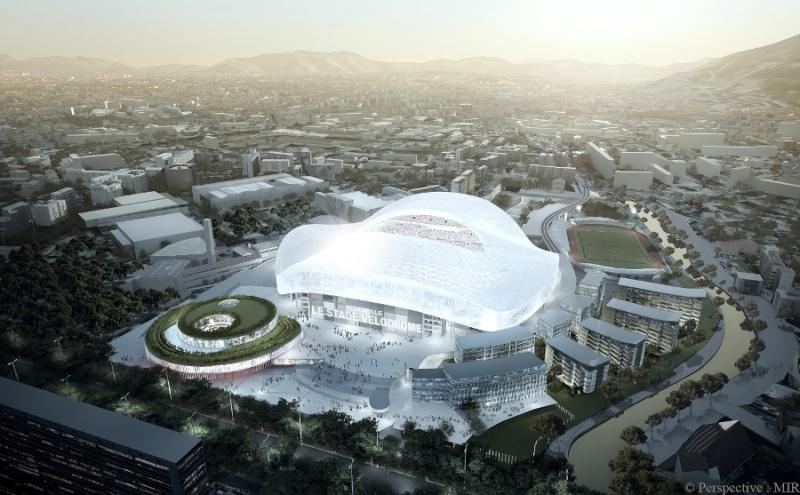 Stade Vélodrome (67,000 places fin estimée Juin 2014) Marsei10