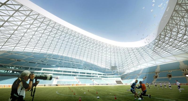 Stade Vélodrome (67,000 places fin estimée Juin 2014) Marsei11