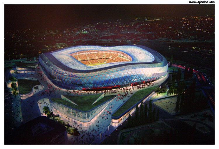 Allianz Riviera (33,470 places fin estimée été 2013)  Nice_o10