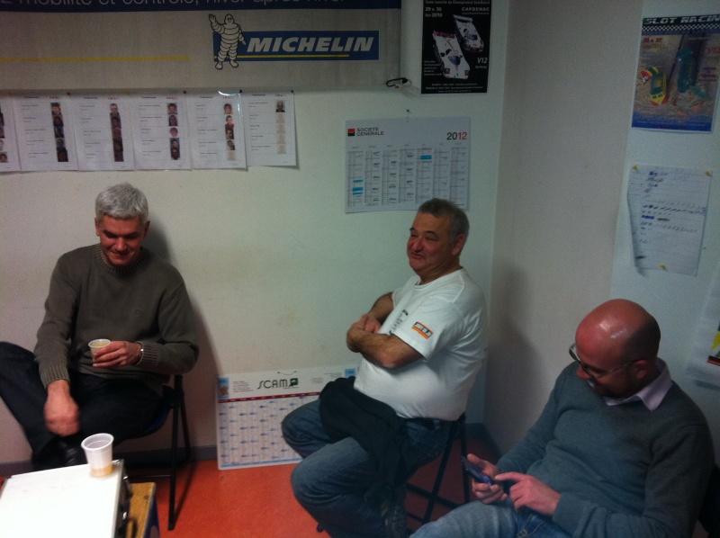 Master GT 2012 - Course 07 - Trophée Andros dehors, GT collées à la piste dedans Iphone11