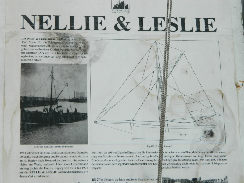 ehemaliger krabbenkutter Nellie&Leslie in Glückstadt Dscn3112