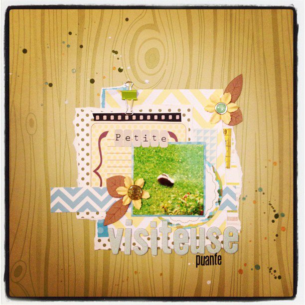 9 avril-So sweet + petite visiteuse (AJOUT) Petite10