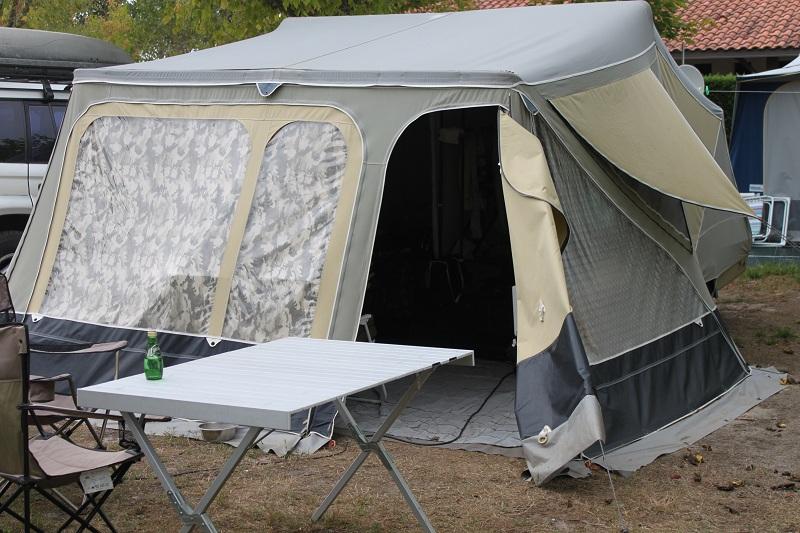 caravane pliante camp-let rapidé de montage Img_7711