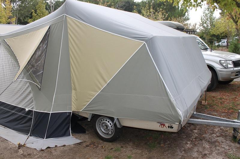 caravane pliante camp-let rapidé de montage Img_7712