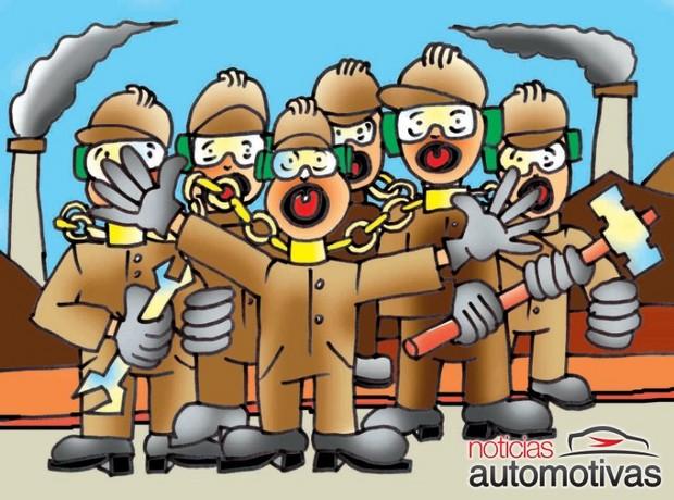 Batailles des travailleurs de l'automobile Metalu10