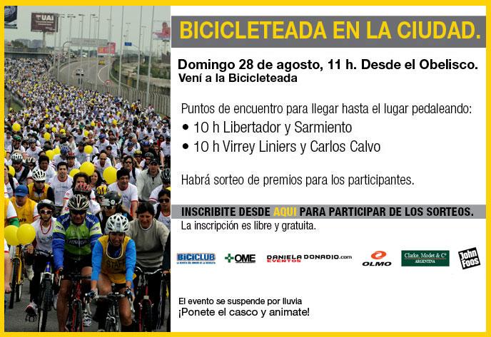 Bicicleteada en la Ciudad - Domingo 28 de agosto, 11 h. Desde el Obelisco. Bicicl12