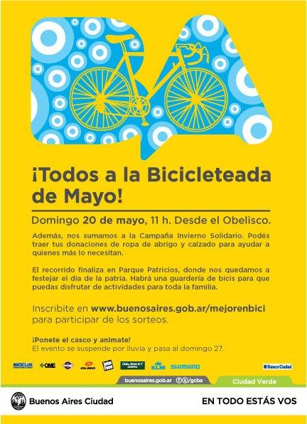 BICICLETEADA DE LA CIUDAD - MAYO Bicicl19