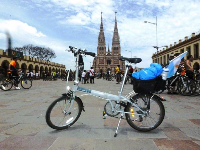 Mi Dahon fue a la Peregrinación en bicicleta a Lujan Lujan11