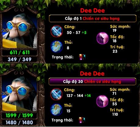 [Guide] Chiến Cơ Siêu Hạng - Dee Dee Cha_sa11