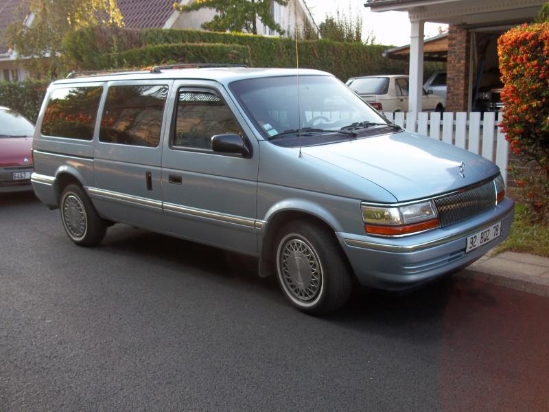 Pas nouveau, mais photo de mon S2 Plymouth Grand Voyager SE 92 100_0910