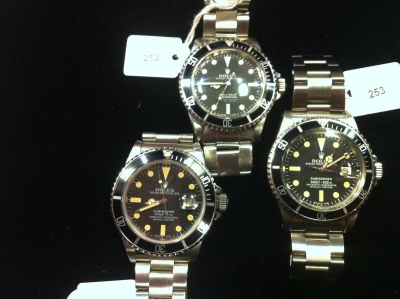 Drouot vente de montres le 30 Novembre Rolos10