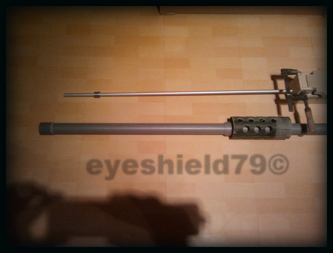 airsoft M2HB 12.7 browning 50. avec canon mobile  2012-079