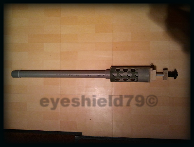 airsoft M2HB 12.7 browning 50. avec canon mobile  2012-088