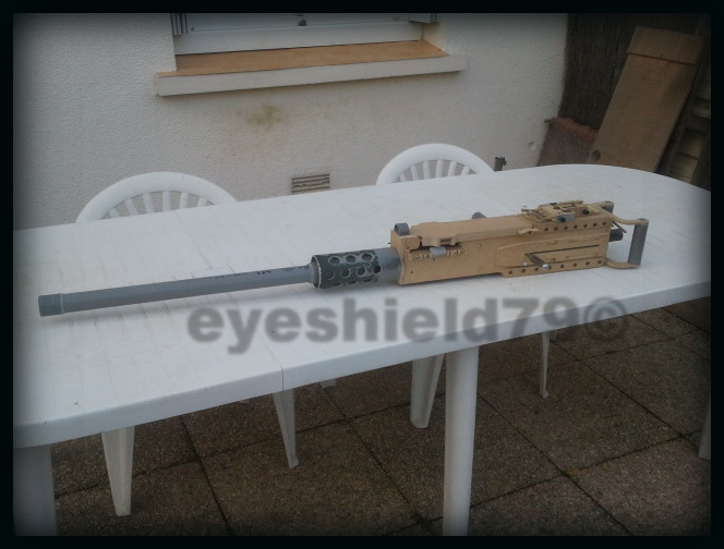 airsoft M2HB 12.7 browning 50. avec canon mobile  2012-092