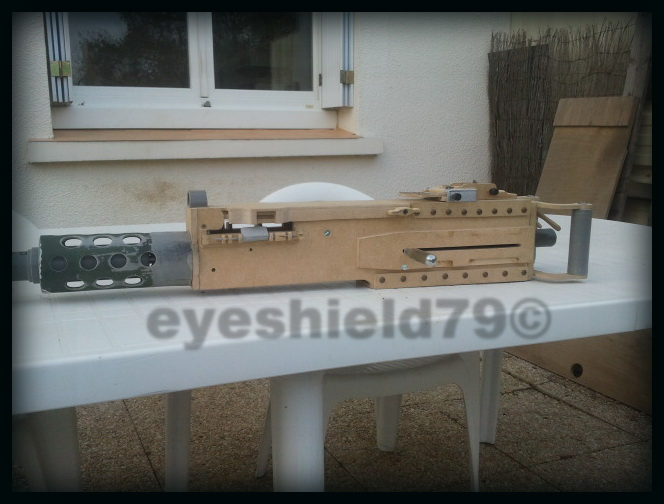 airsoft M2HB 12.7 browning 50. avec canon mobile  2012-093