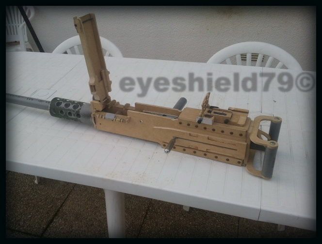 airsoft M2HB 12.7 browning 50. avec canon mobile  2012-094