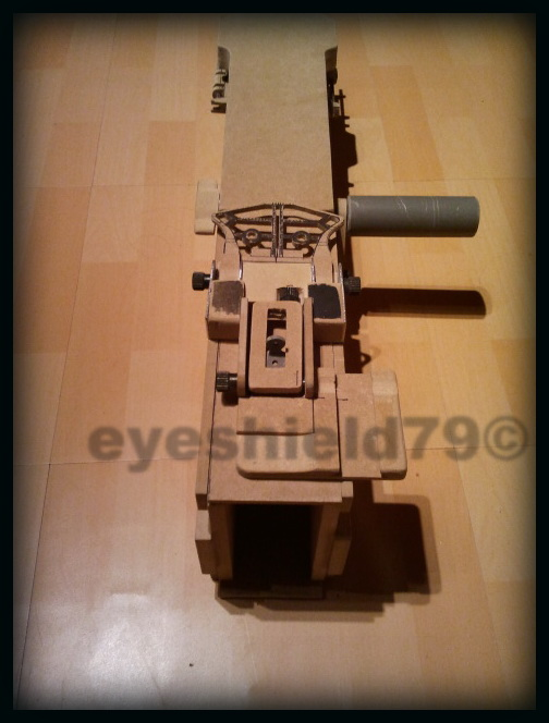 airsoft M2HB 12.7 browning 50. avec canon mobile  2012-096