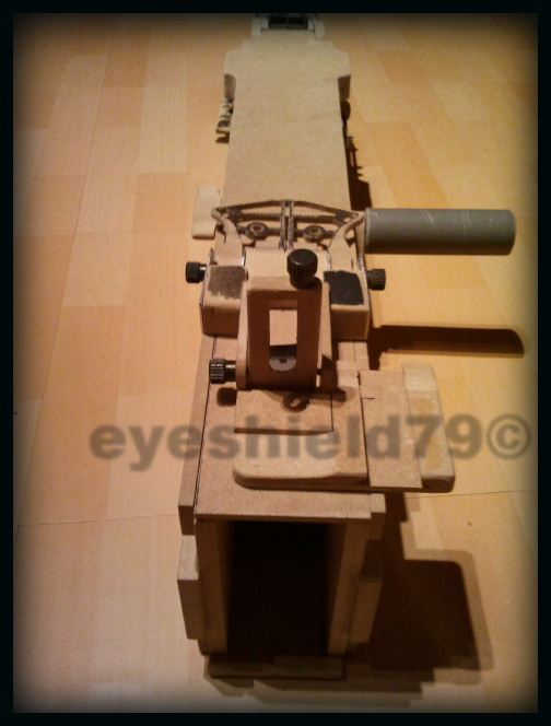 airsoft M2HB 12.7 browning 50. avec canon mobile  2012-098